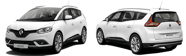Modelo Renault Grand Scénic Intens