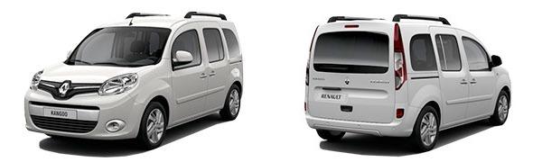 Modelo Renault Kangoo Combi 5p Zen