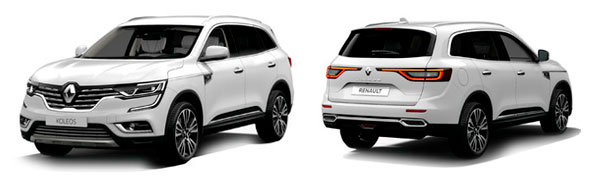 Modelo Renault Koleos Initiale Paris