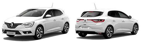 Modelo Renault Mégane Berlina Bose