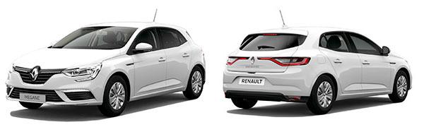 Modelo Renault Mégane Berlina Life