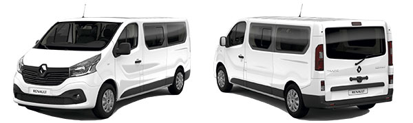 Modelo Renault Trafic Combi 5p Passenger