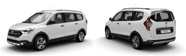 Modelo Dacia Lodgy Nómada
