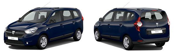 Modelo Dacia Lodgy Comfort