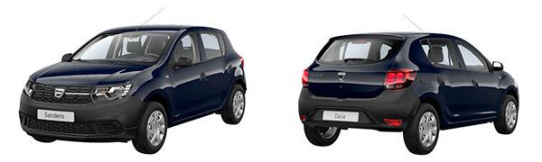 Modelo Dacia Sandero Access