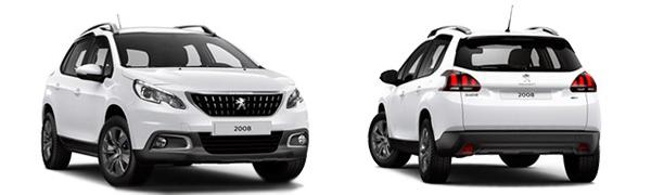 Modelo Peugeot 2008 Style