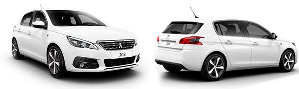 Modelo Peugeot 308 5p Tech Edition