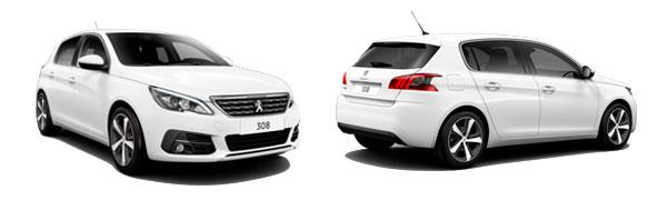 Modelo Peugeot 308 5p Allure