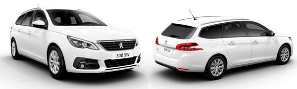 Modelo Peugeot 308 SW Style