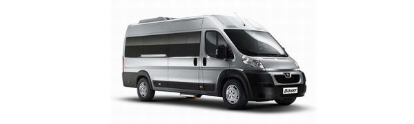 Modelo Peugeot Boxer Minibus -