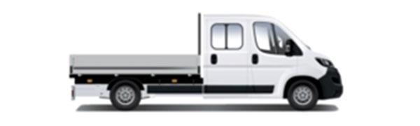 Modelo Peugeot Boxer Pickup Doble Cabina 4p -
