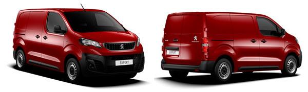 Model Peugeot Expert Furgón Premium