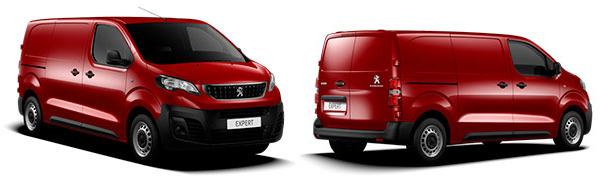 Modelo Peugeot Expert Furgón Asphalt