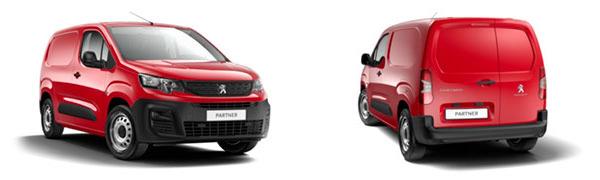 Model Peugeot Partner Furgón 3p Pro