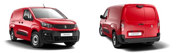 Modelo Peugeot Partner Furgón 4p Asphalt