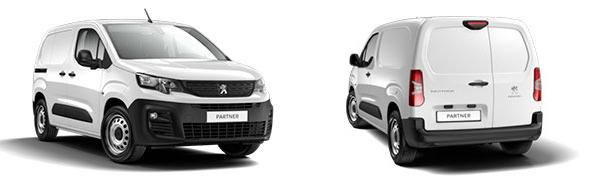 Modelo Peugeot Partner Furgón 4p Dangel
