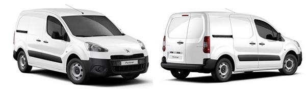 Modelo Peugeot Partner Furgón 4p Confort
