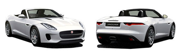 Modelo Jaguar F-Type Convertible -