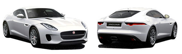 Modelo Jaguar F-Type Coupé -