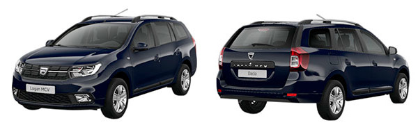 Modelo Dacia Logan MCV Comfort