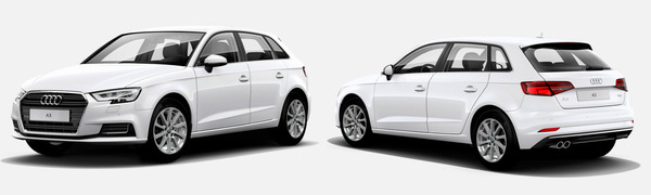 Modelo Audi A3 Sportback Design