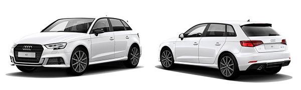 Modelo Audi A3 Sportback Black Line