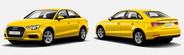 Modelo Audi A3 Sedán -