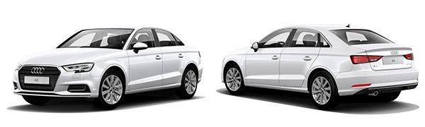 Modelo Audi A3 Sedán Design
