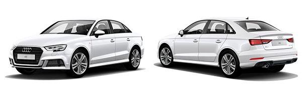 Modelo Audi A3 Sedán S line