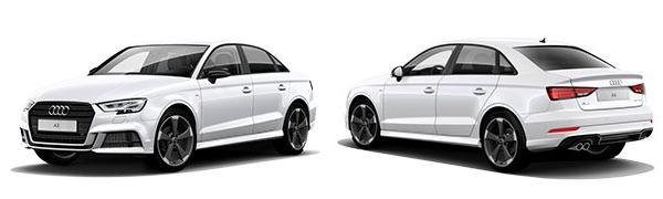 Modelo Audi A3 Sedán Black Line