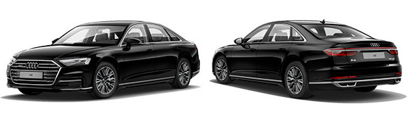 Modelo Audi A8 -