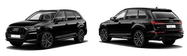 Modelo Audi Q7 Black Line Edition