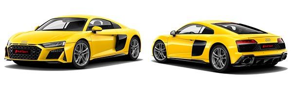 Modelo Audi R8 Coupé -