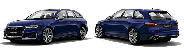 Modelo Audi RS4 Avant -