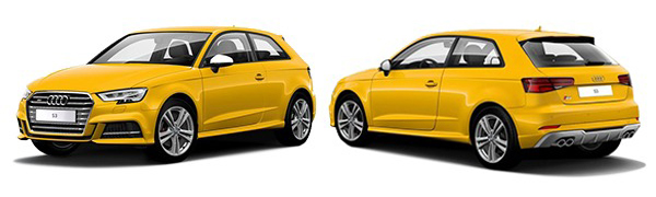 Modelo Audi S3 -