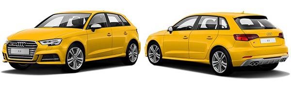 Modelo Audi S3 Sportback -