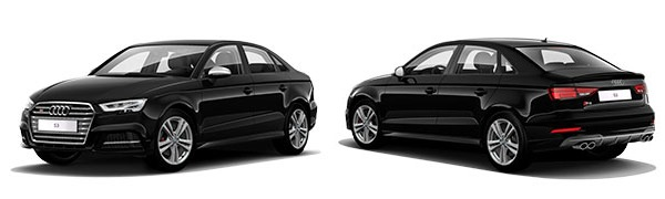 Modelo Audi S3 Sedán -