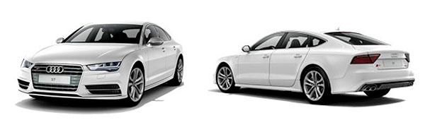 Modelo Audi S7 Sportback -