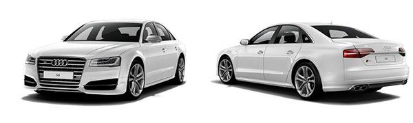 Modelo Audi S8 -