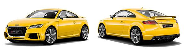 Modelo Audi TT RS Coupé -