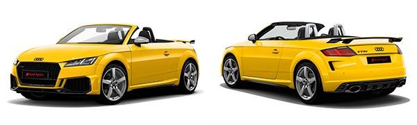 Modelo Audi TT RS Roadster -