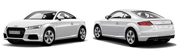 Modelo Audi TT Coupé -