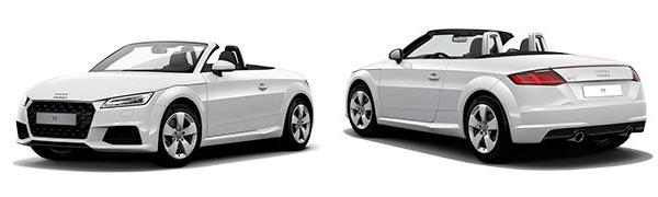Modelo Audi TT Roadster -