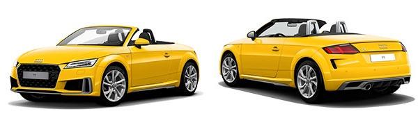 Modelo Audi TT Roadster S Line