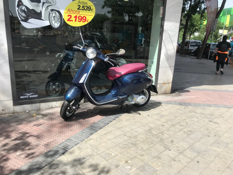 Vespa Primavera 125 i.e 3V 125 cc