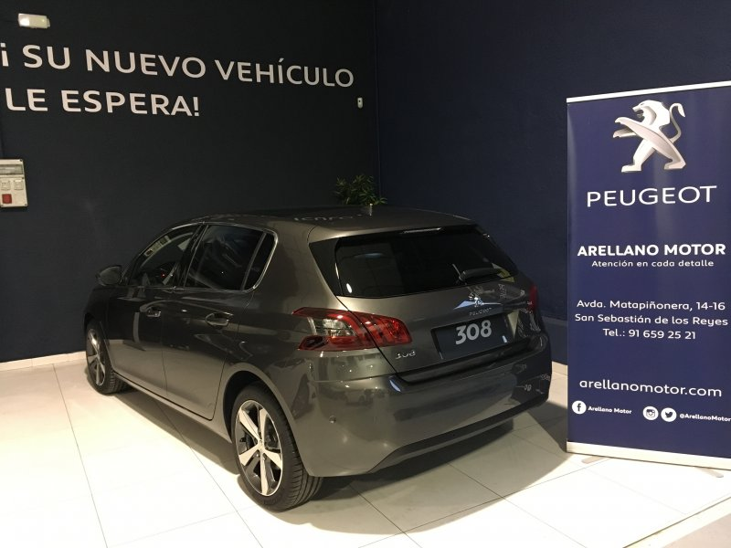 Peugeot 308 5p 1.6 BlueHDi 88KW (120CV) EAT6 Allure