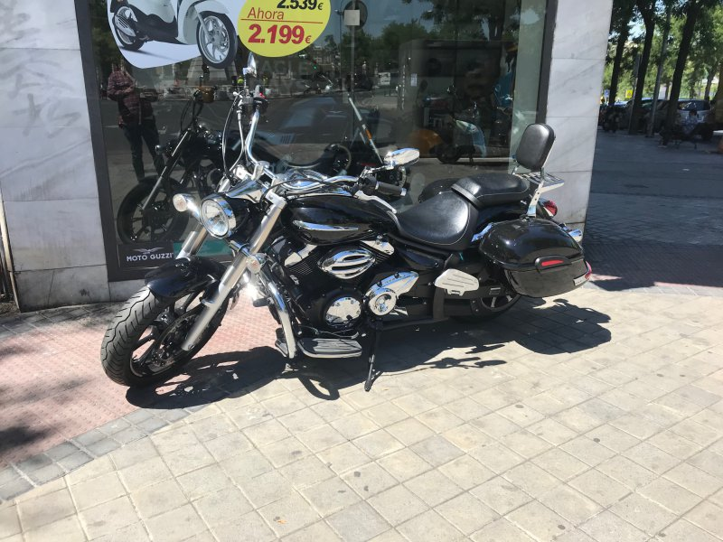 Yamaha XVS950A Midnight Star 2009  950 CC