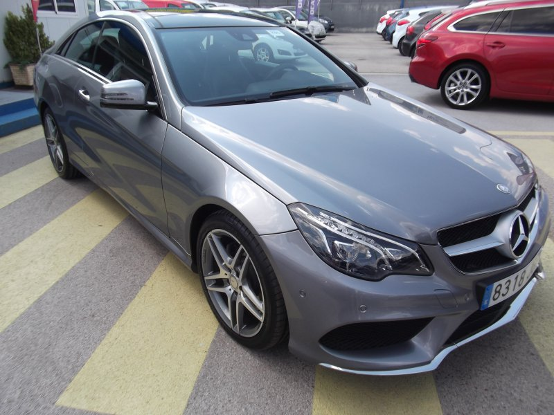Mercedes-Benz Clase E Coupé E 350 CDI Blue Efficiency Elegance