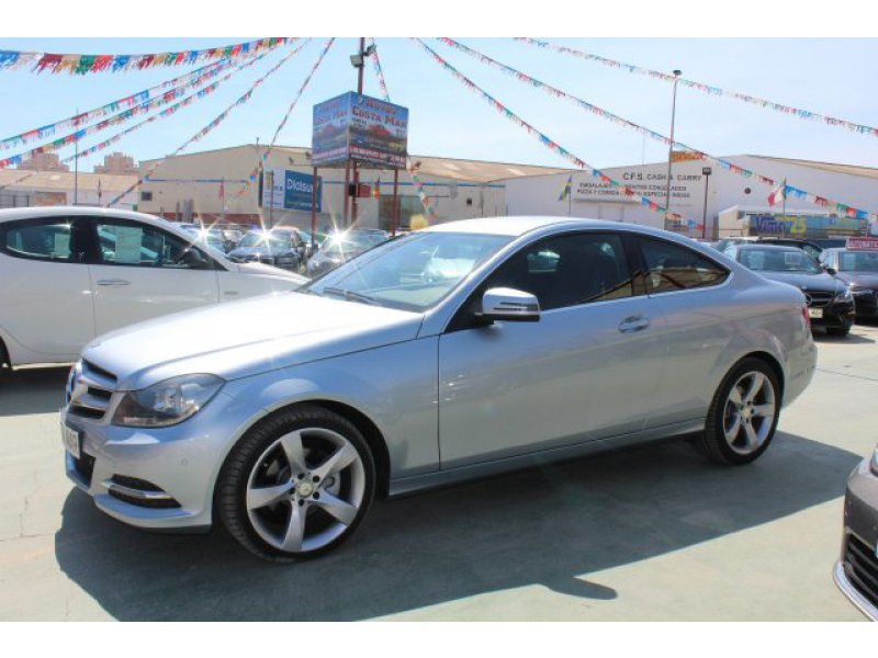 Mercedes-Benz Clase C C 220 CDI Blue Efficiency Coupé -