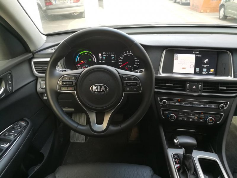Kia Optima 2.0 GDi Híbrido Enchufable -
